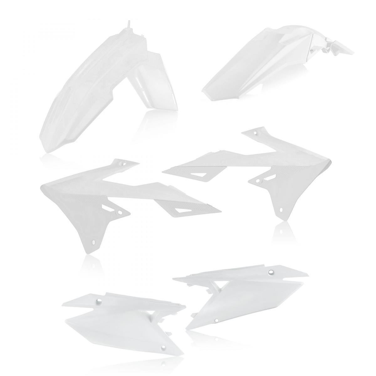 Acerbis Plastik-Kit  Suzuki RMZ 250 2019, Weiß