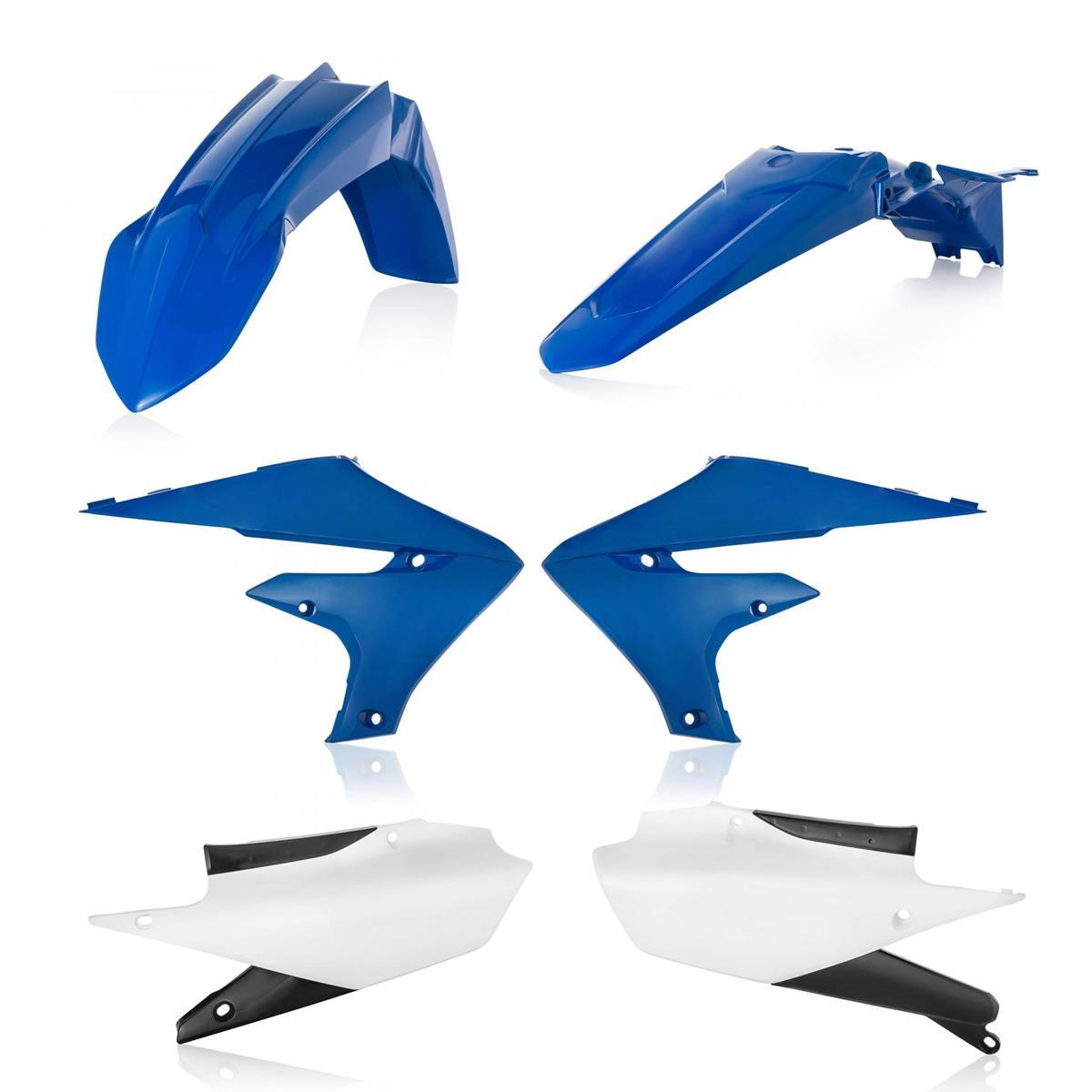 Acerbis Plastik-Kit  Yamaha YZF 450 2019, Blau/Weiß Original