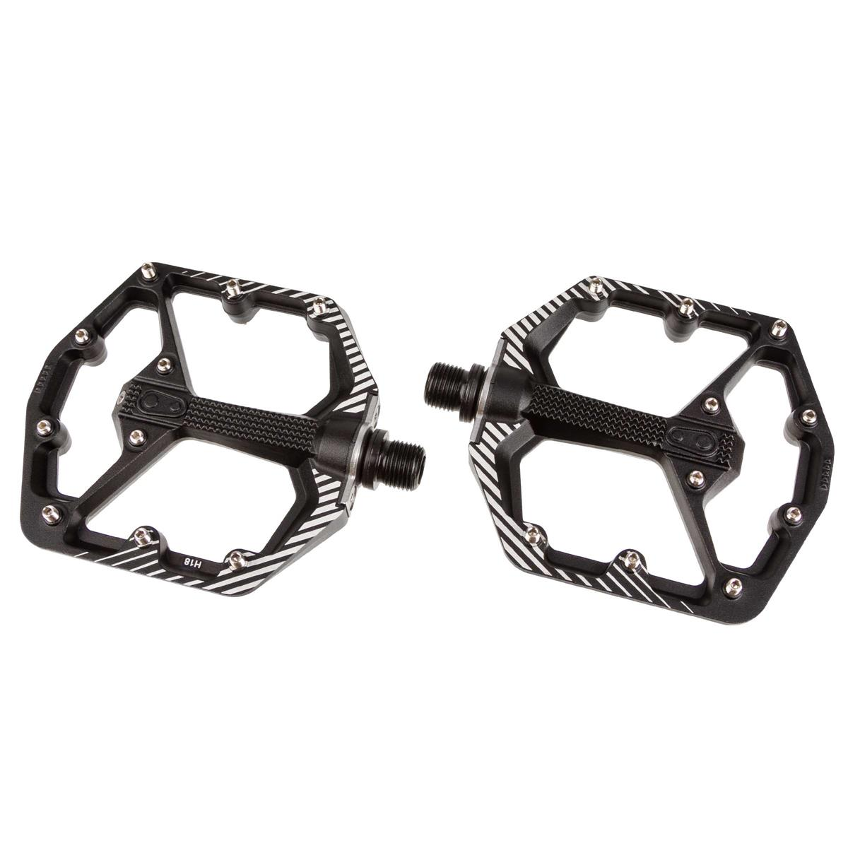 Crankbrothers Pedale Stamp 7 Danny MacAskill Edition, Raw/Schwarz, Small