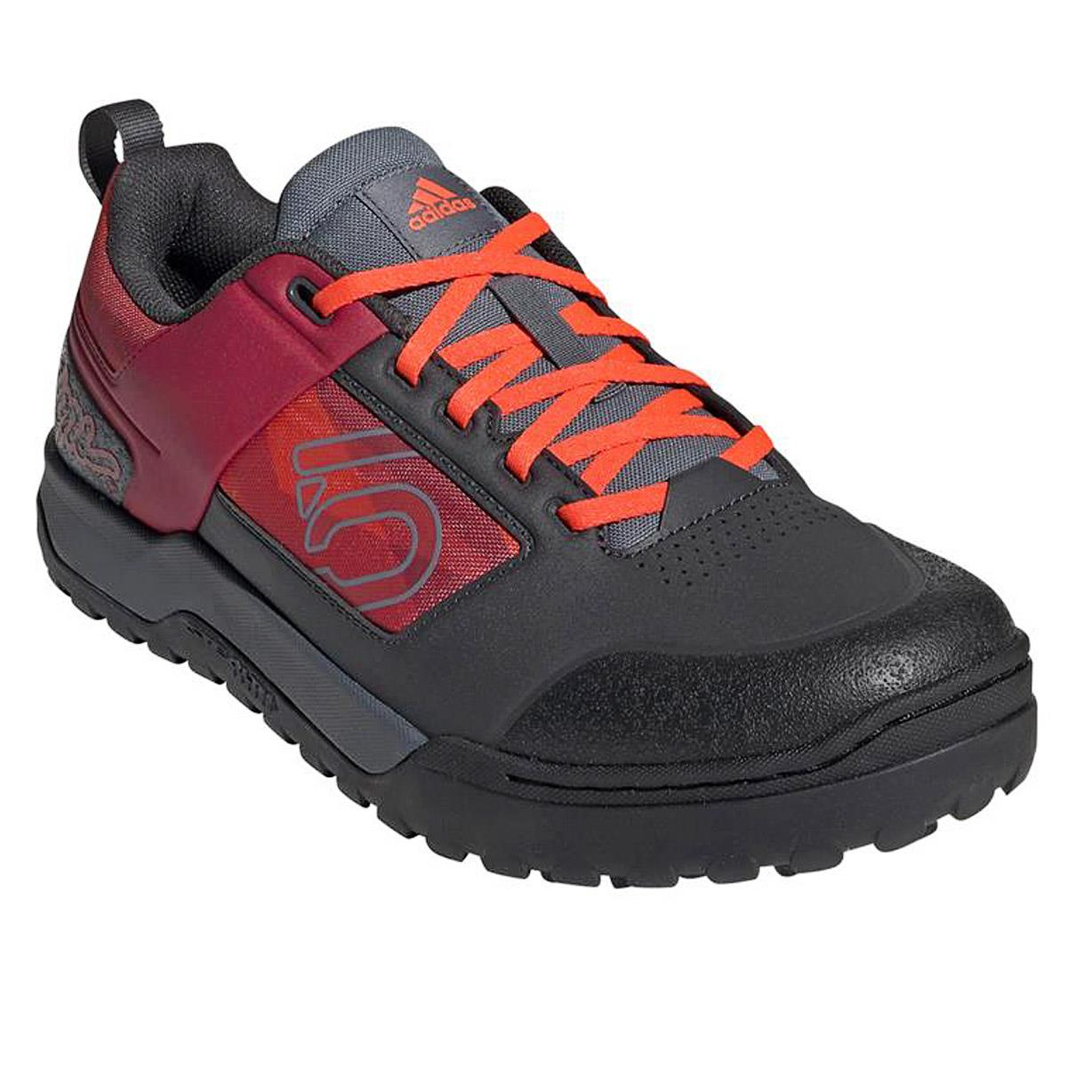 Five Ten MTB-Schuhe Impact Pro TLD Carbon/Strong Red/Solar Red