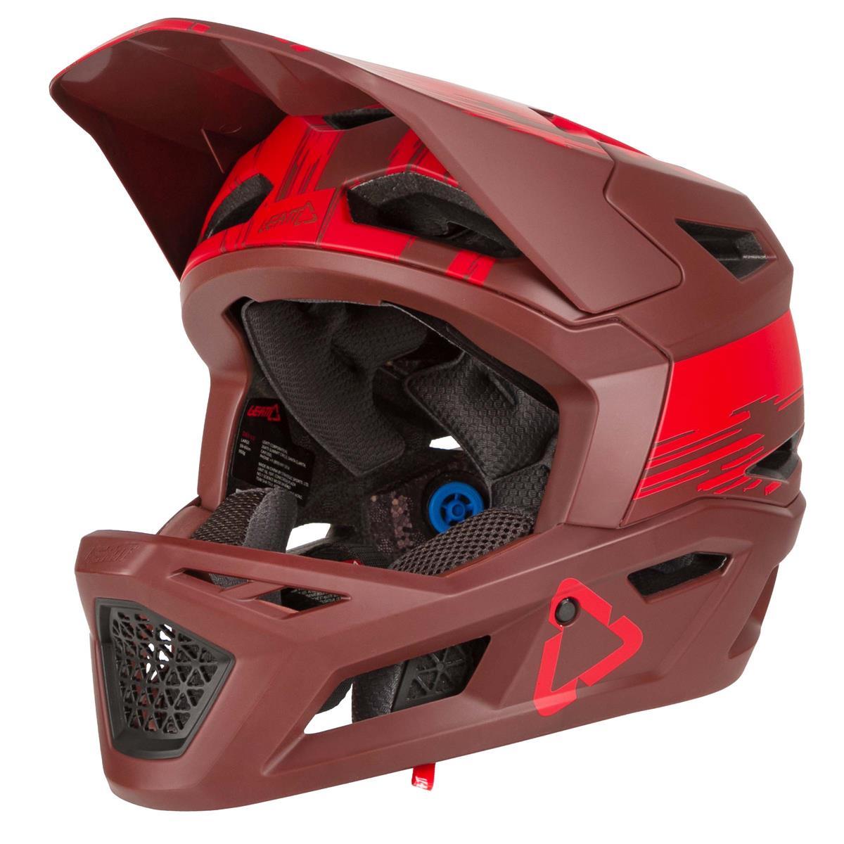 Leatt Downhill-MTB Helm DBX 4.0 Ruby