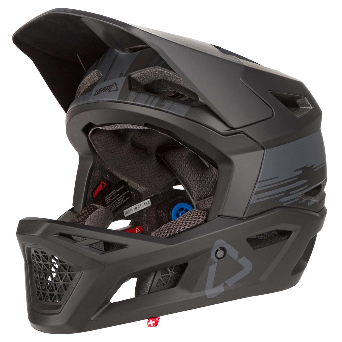 Leatt Downhill-MTB Helm DBX 4.0 Schwarz