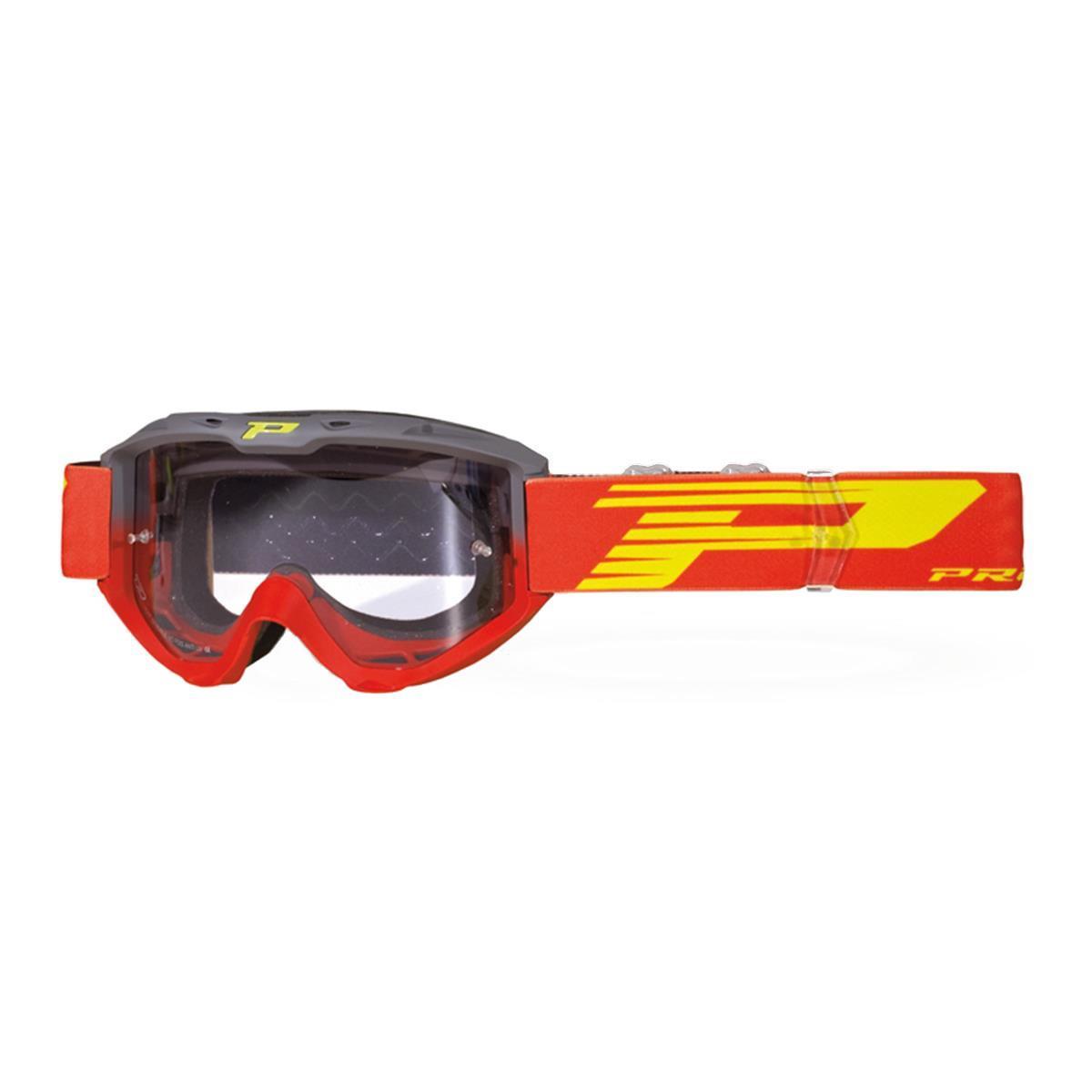 ProGrip Crossbrille 3450 LS Riot Grau/Rot