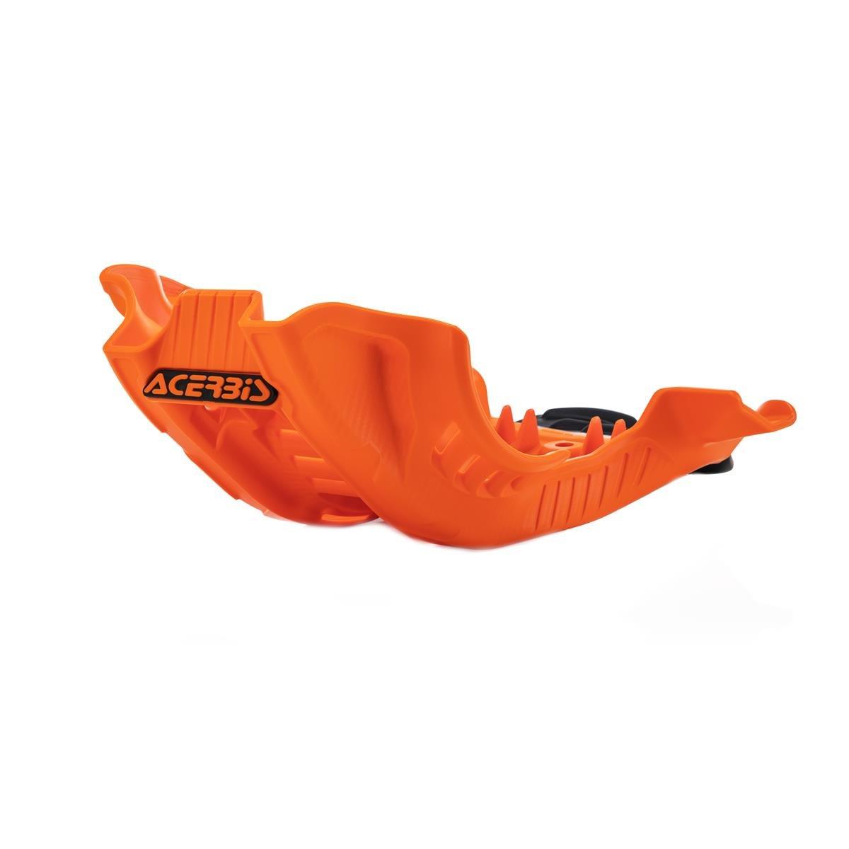 Acerbis Motorschutzplatte  Husqvarna FC 250/350 19-20, KTM SX-F 250/350 19-20, Orange/Schwarz