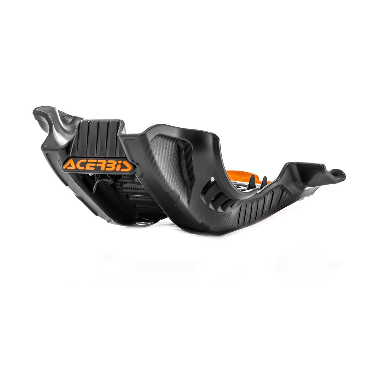 Acerbis Motorschutzplatte  Husqvarna FC 250/350 '19, KTM SX-F 250/350 '19, Schwarz/Orange