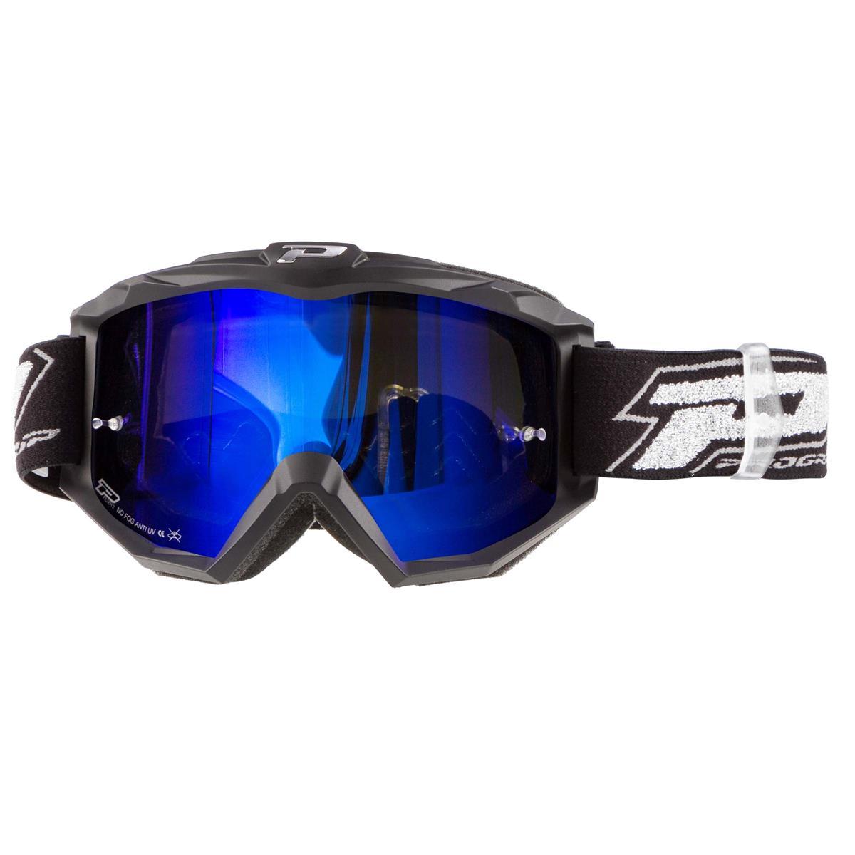 ProGrip Crossbrille 3204 FL Shiny Blau Mirrored