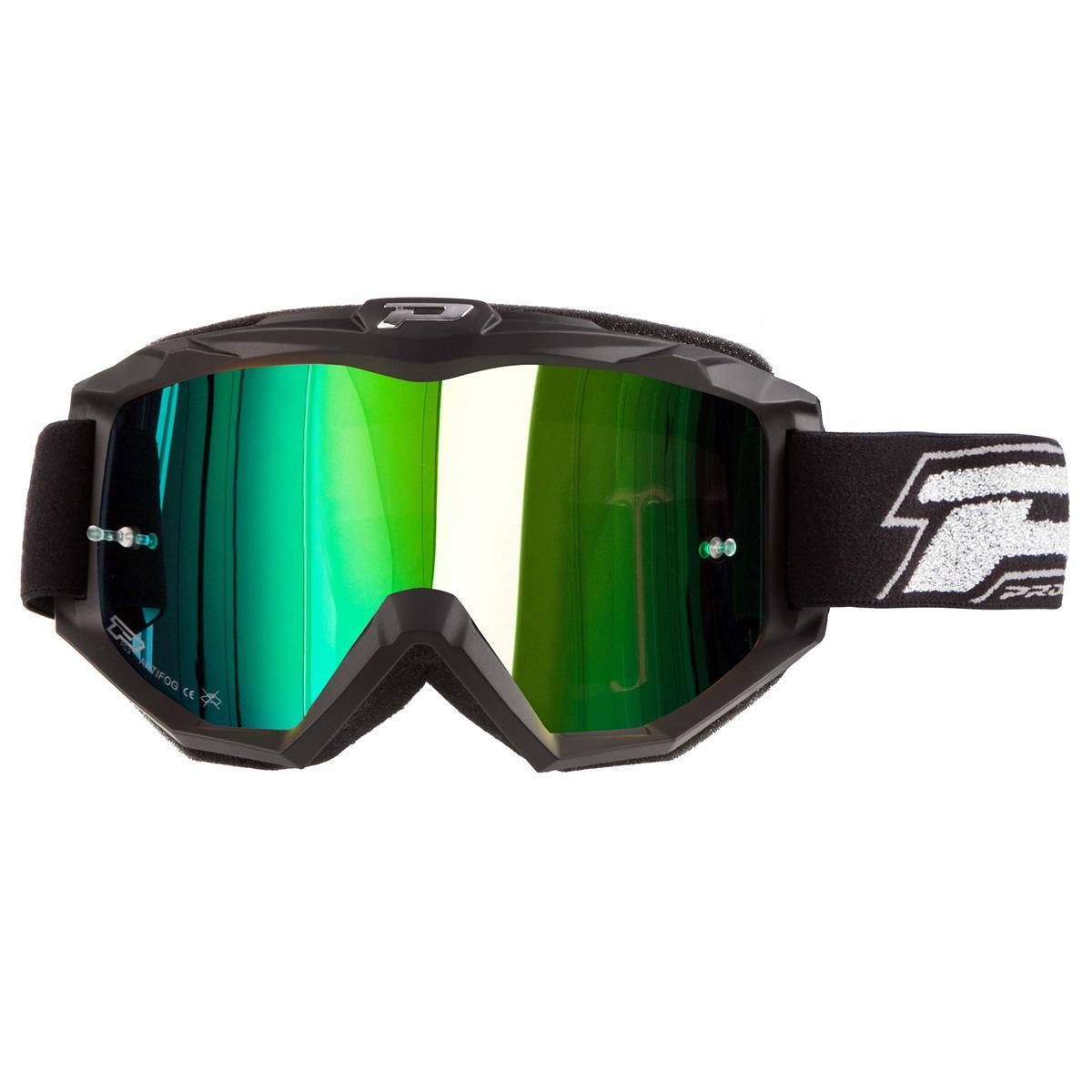 ProGrip Crossbrille 3204 FL Shiny Grün Mirrored