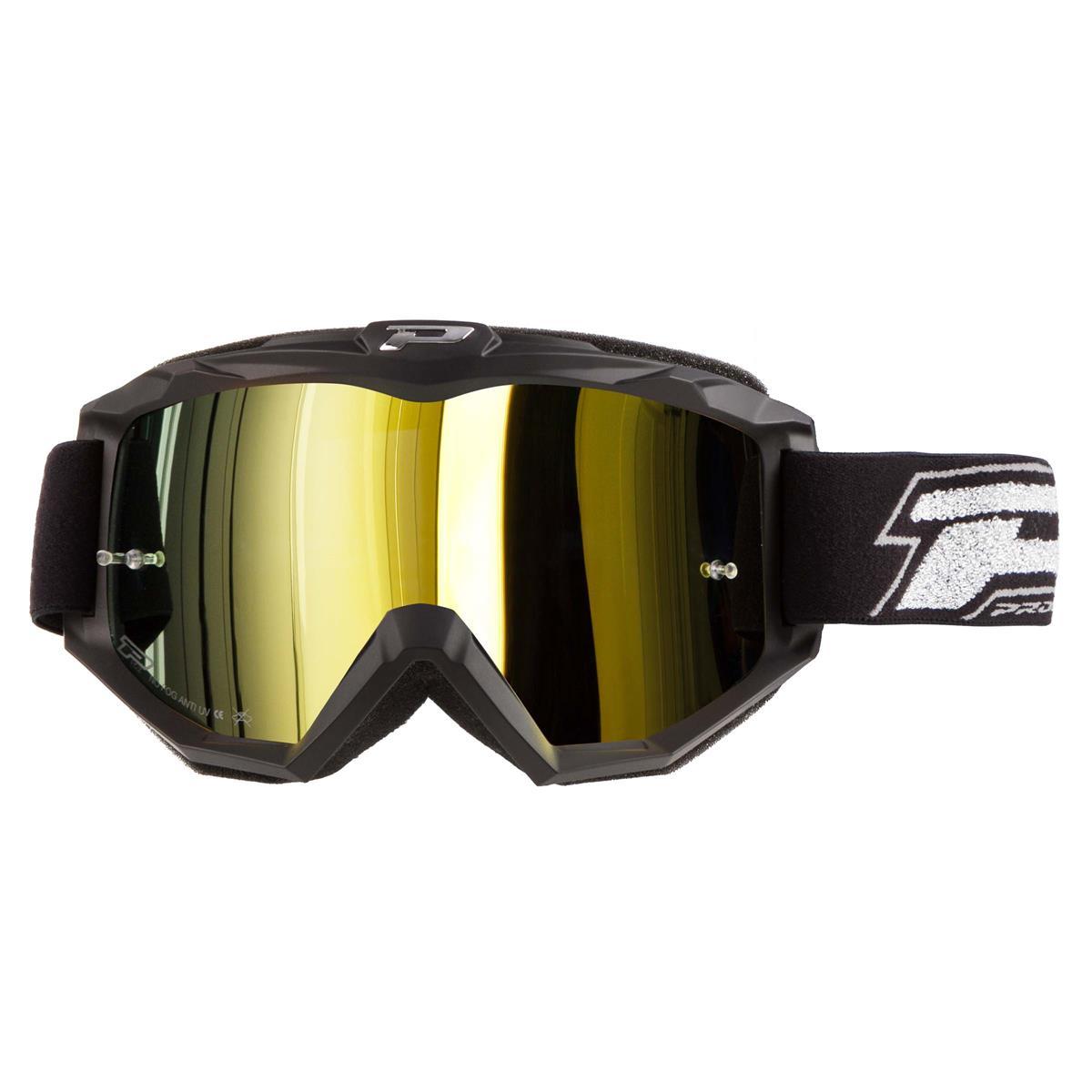 ProGrip Crossbrille 3204 FL Shiny Gelb Mirrored