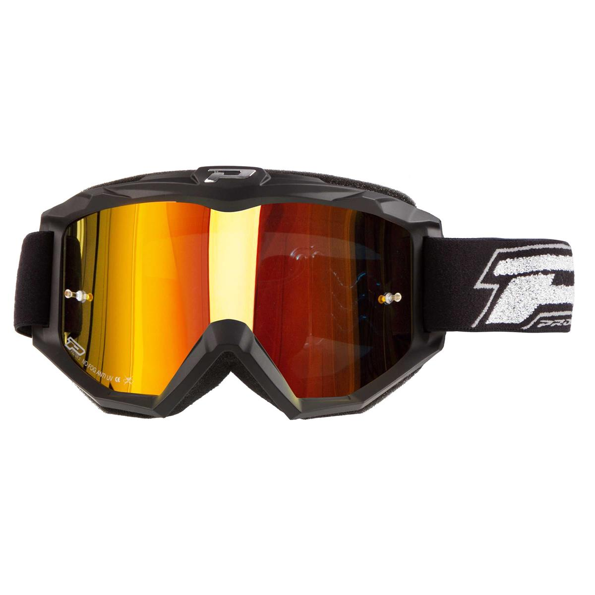 ProGrip Crossbrille 3204 FL Shiny Rot Mirrored