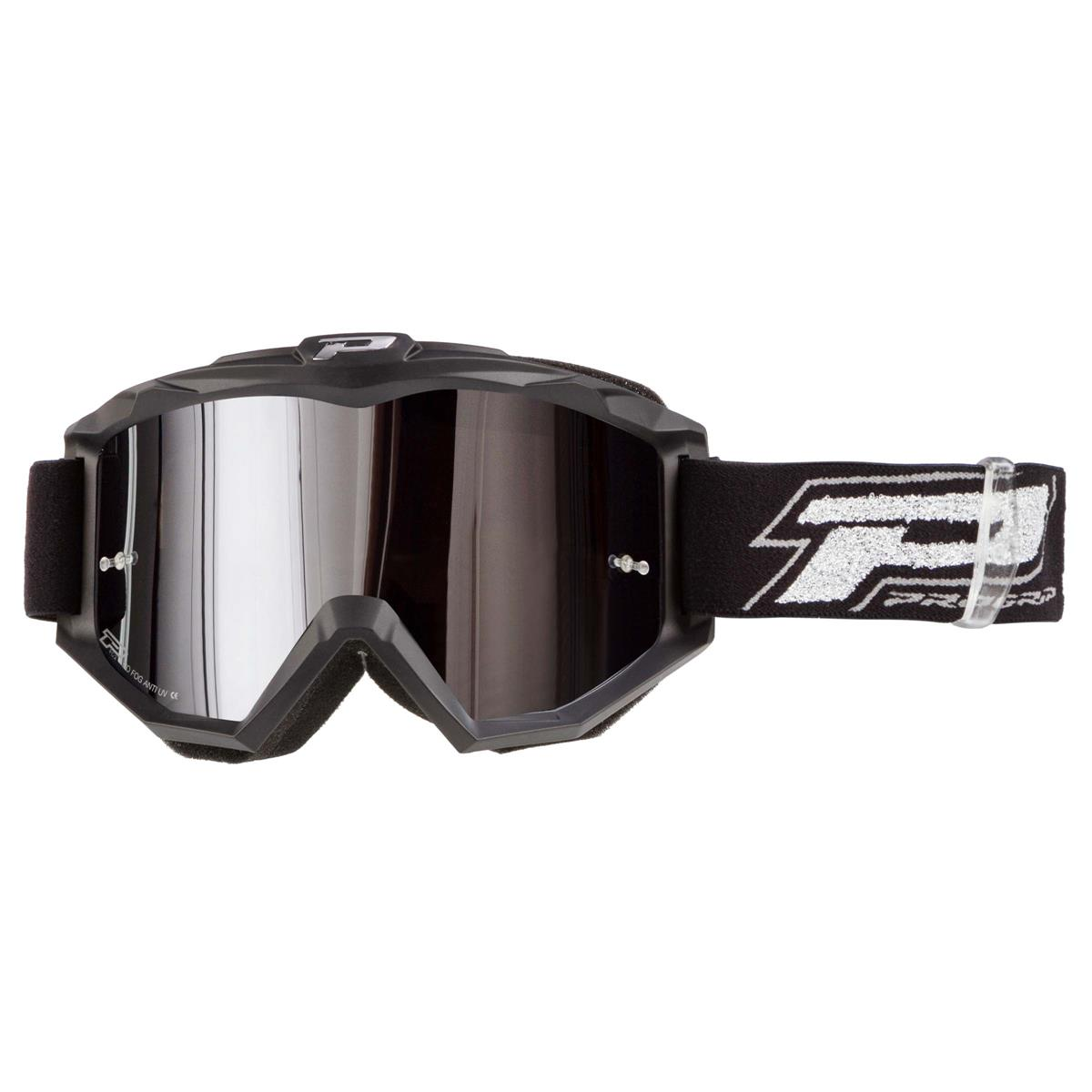 ProGrip Crossbrille 3204 FL Shiny Silber Mirrored