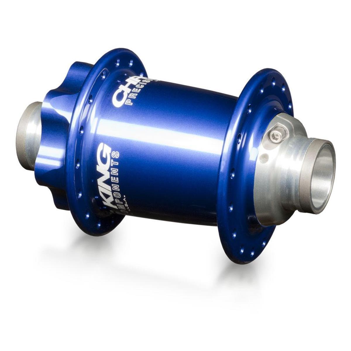 Chris King MTB-Nabe Vorderrad ISO LD 100mm x 15mm, 32-Loch, 6-Bolt, Navy