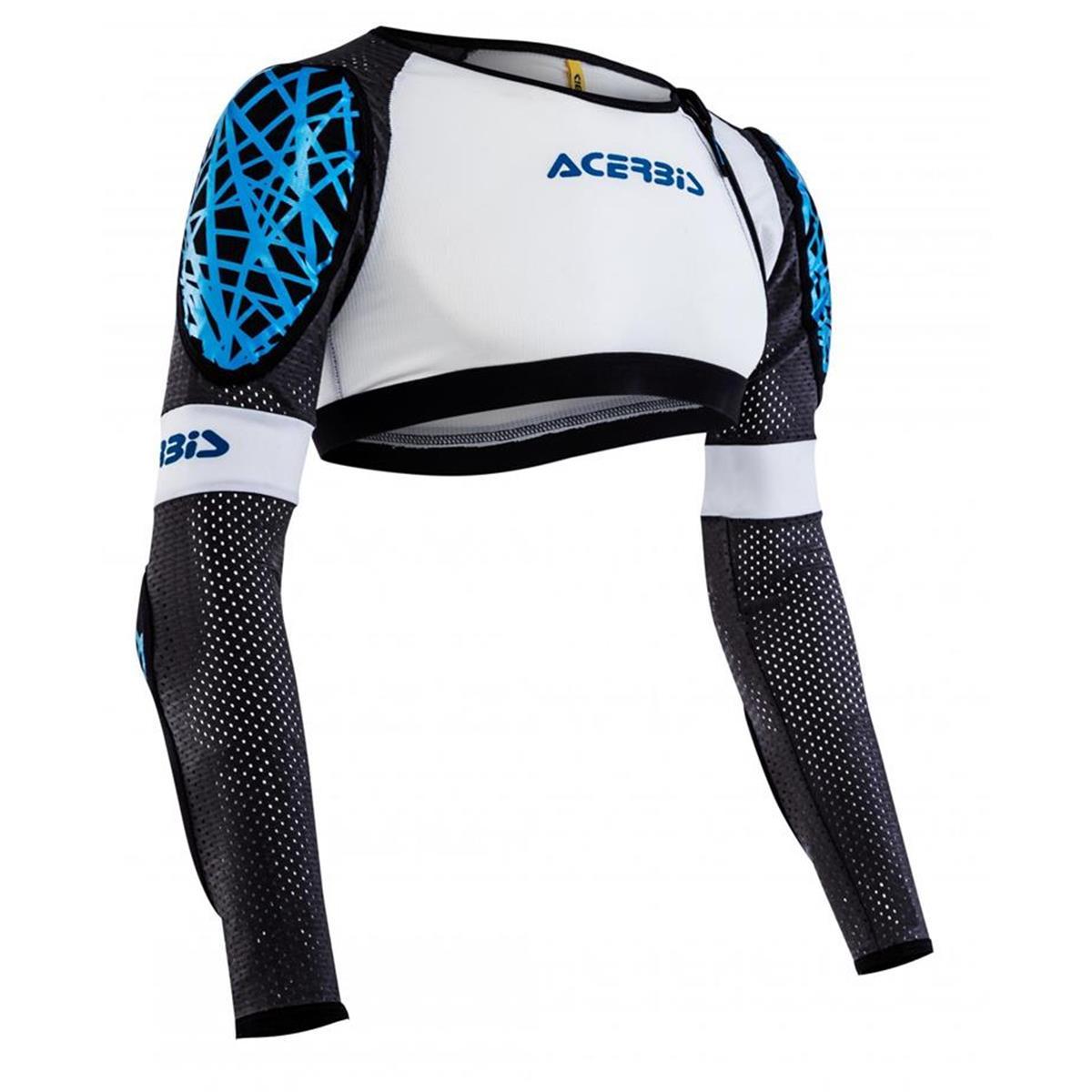 Acerbis Protektionshemd Galaxy Weiß/Blau