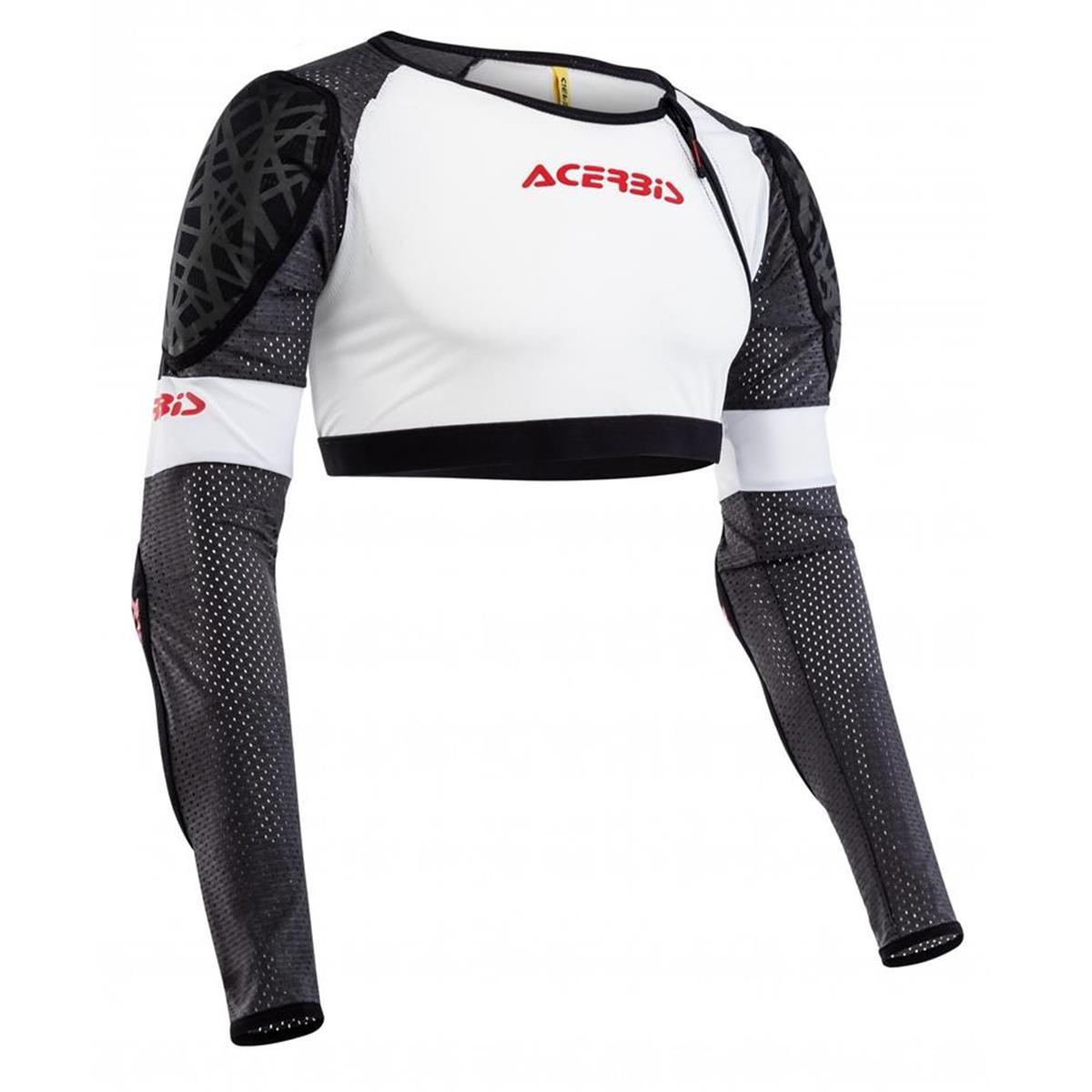 Acerbis Protektionshemd Galaxy Weiß/Schwarz