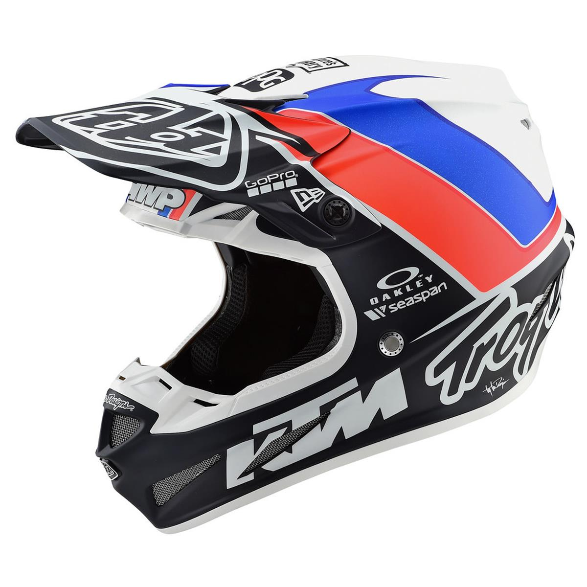 Troy Lee Designs Helm SE4 Composite Unite White