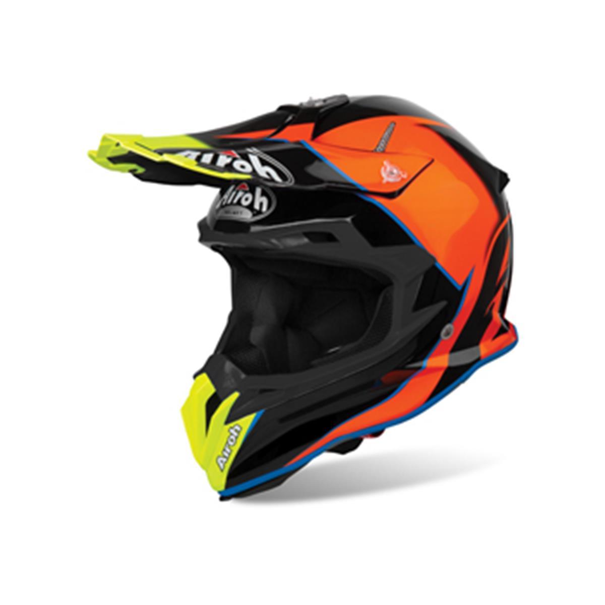 Airoh Helm Terminator Open Vision Slider-Azure