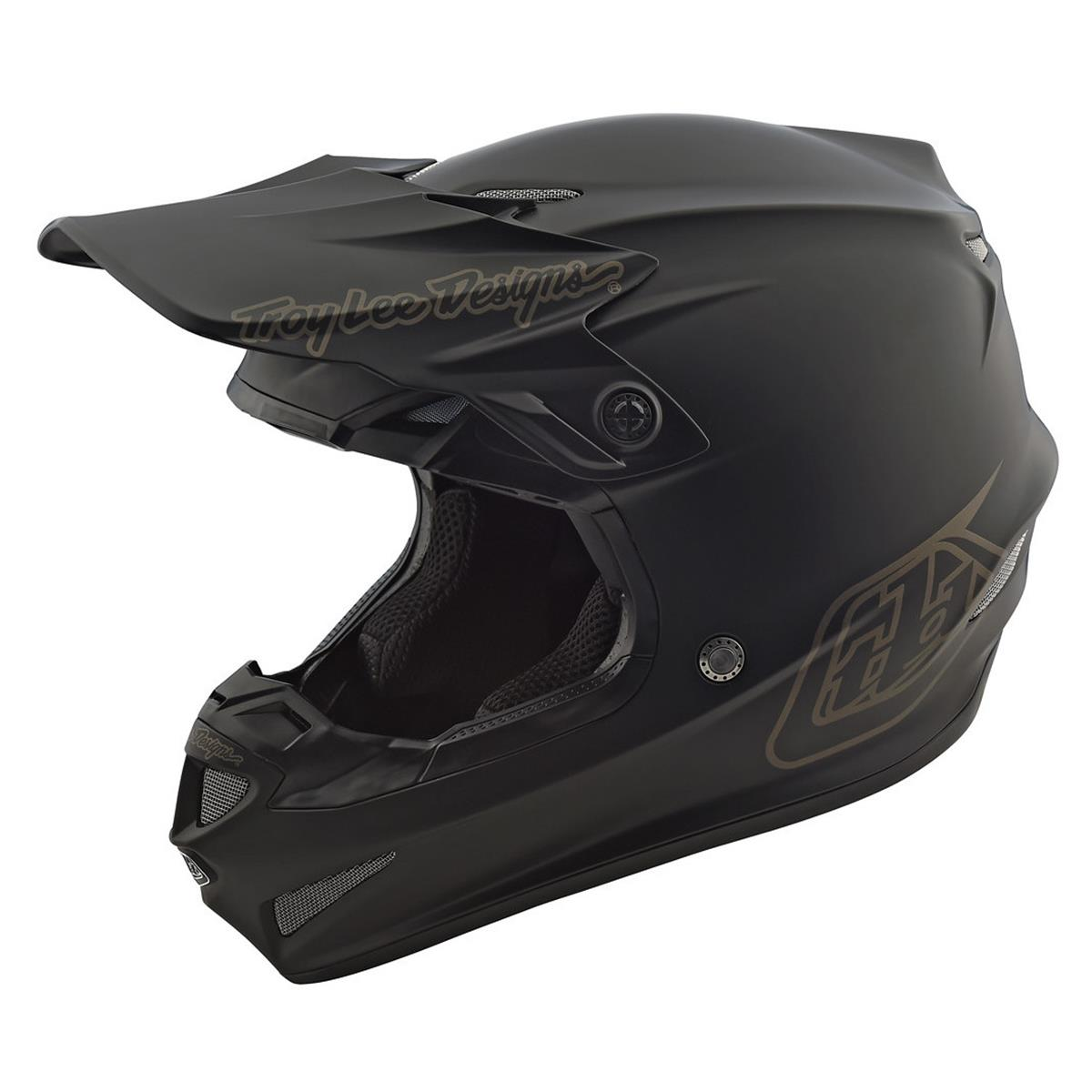 Troy Lee Designs Kids Helm SE4 Polyacrylite MIPS Midnight Black