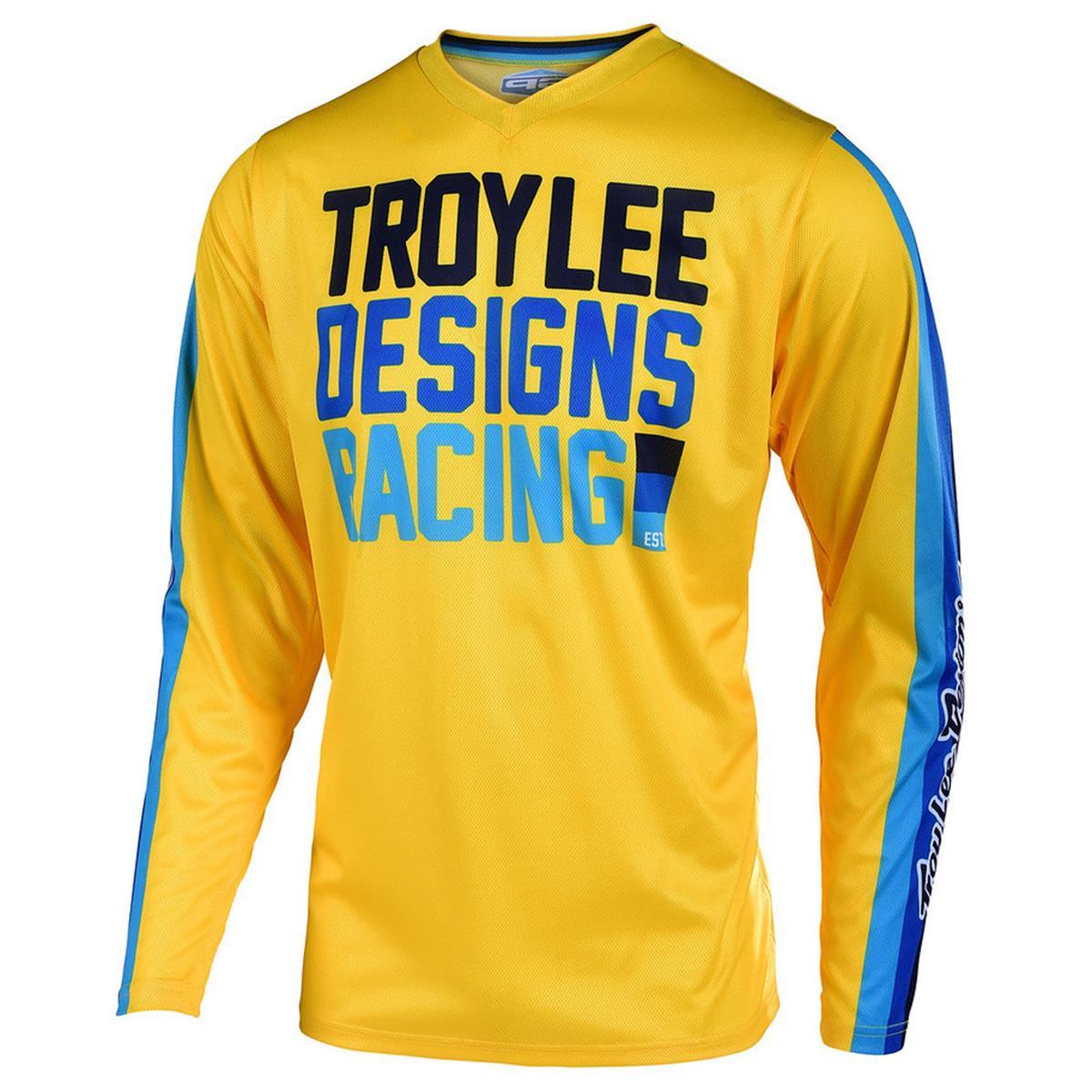 Troy Lee Designs Jersey GP Premix 86 - Gelb