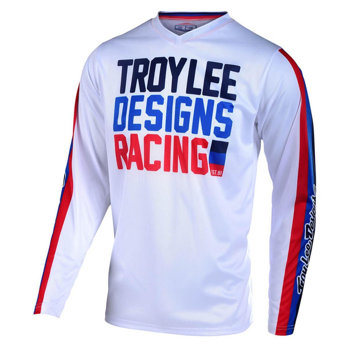 Troy Lee Designs Jersey GP Air Premix 86 - Weiß