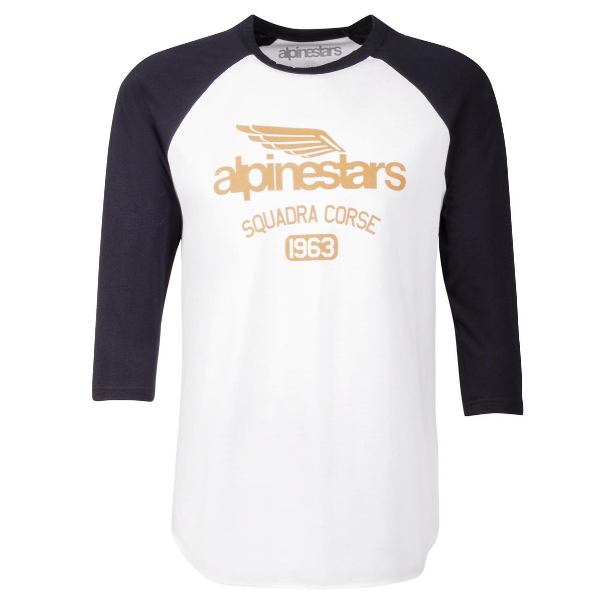 Alpinestars T-Shirt Winged Team Weiß/Navy
