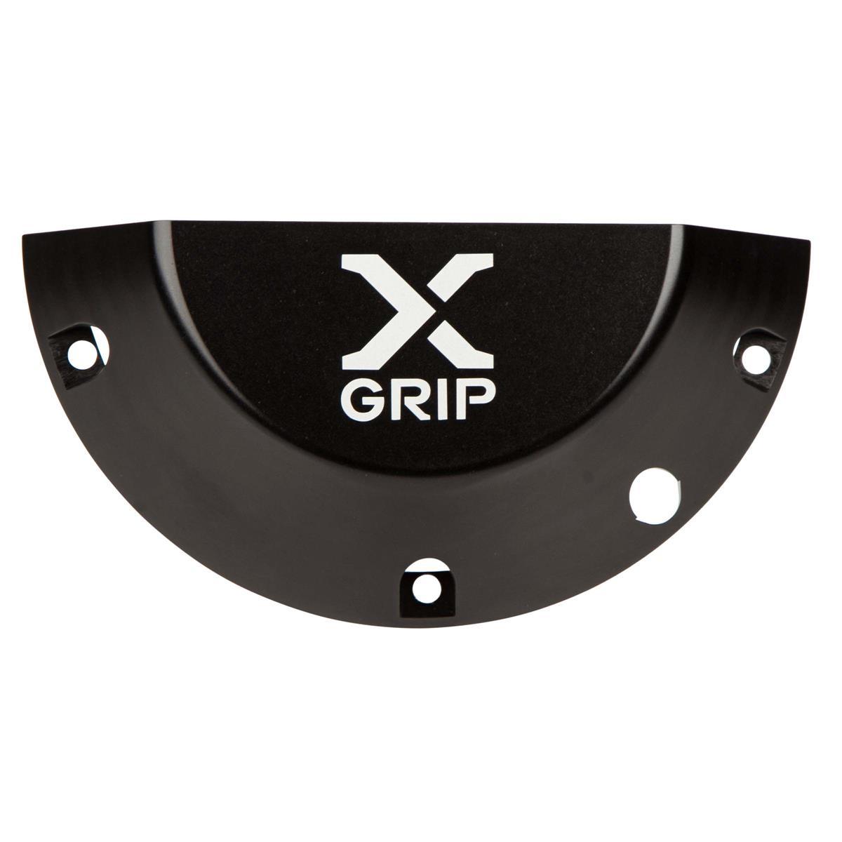 X-Grip Kupplungsschutz Clutch Cover Guard KTM EXC/EXC-F, Husqvarna TE/FE 17-19, Schwarz