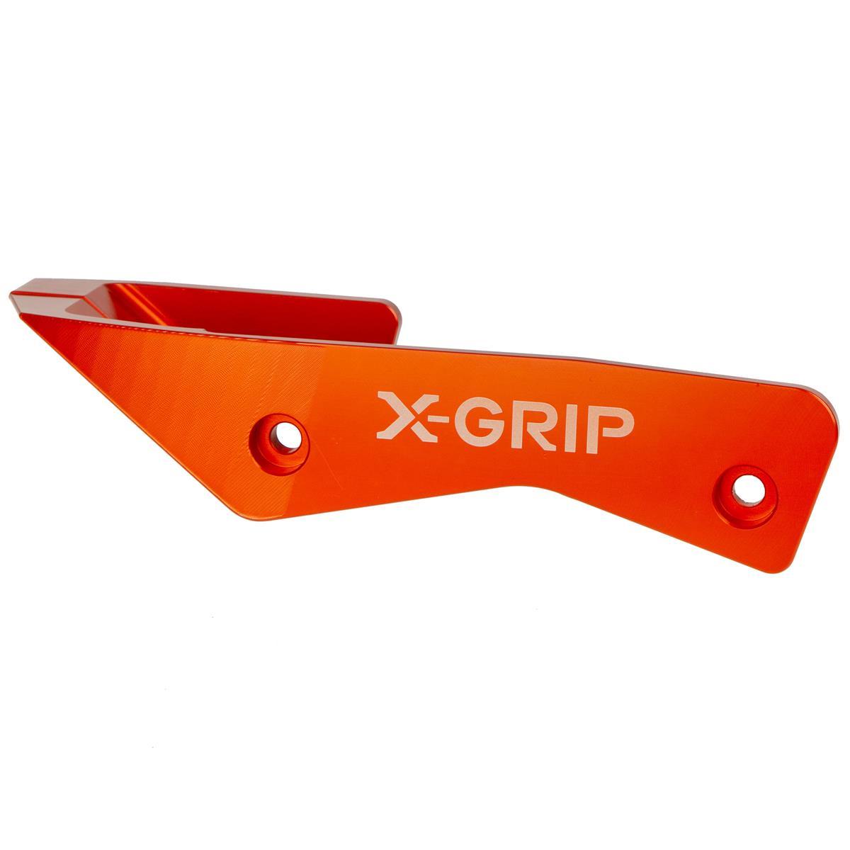 X-Grip Schwingenschutz Aluminium KTM SX/SX-F/EXC/EXC-F 08-19, Husqvarna TE/FE/TC/FC/TX 14-19, Orange