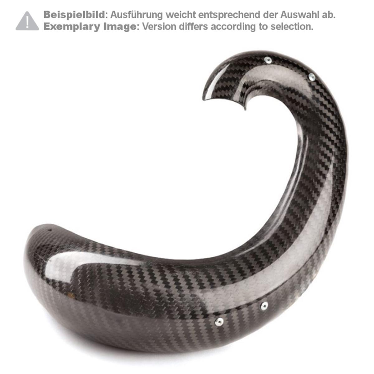 X-Grip Auspuffbirnen-Schutz Carbon Beta RR 250/300 2T, 13-19