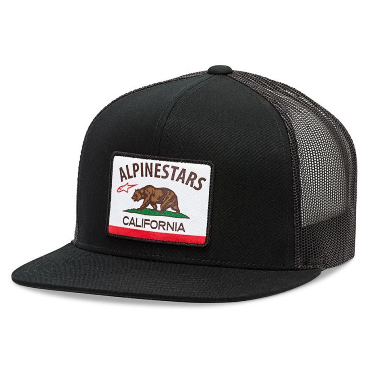 Alpinestars Snapback Cap Cali Schwarz