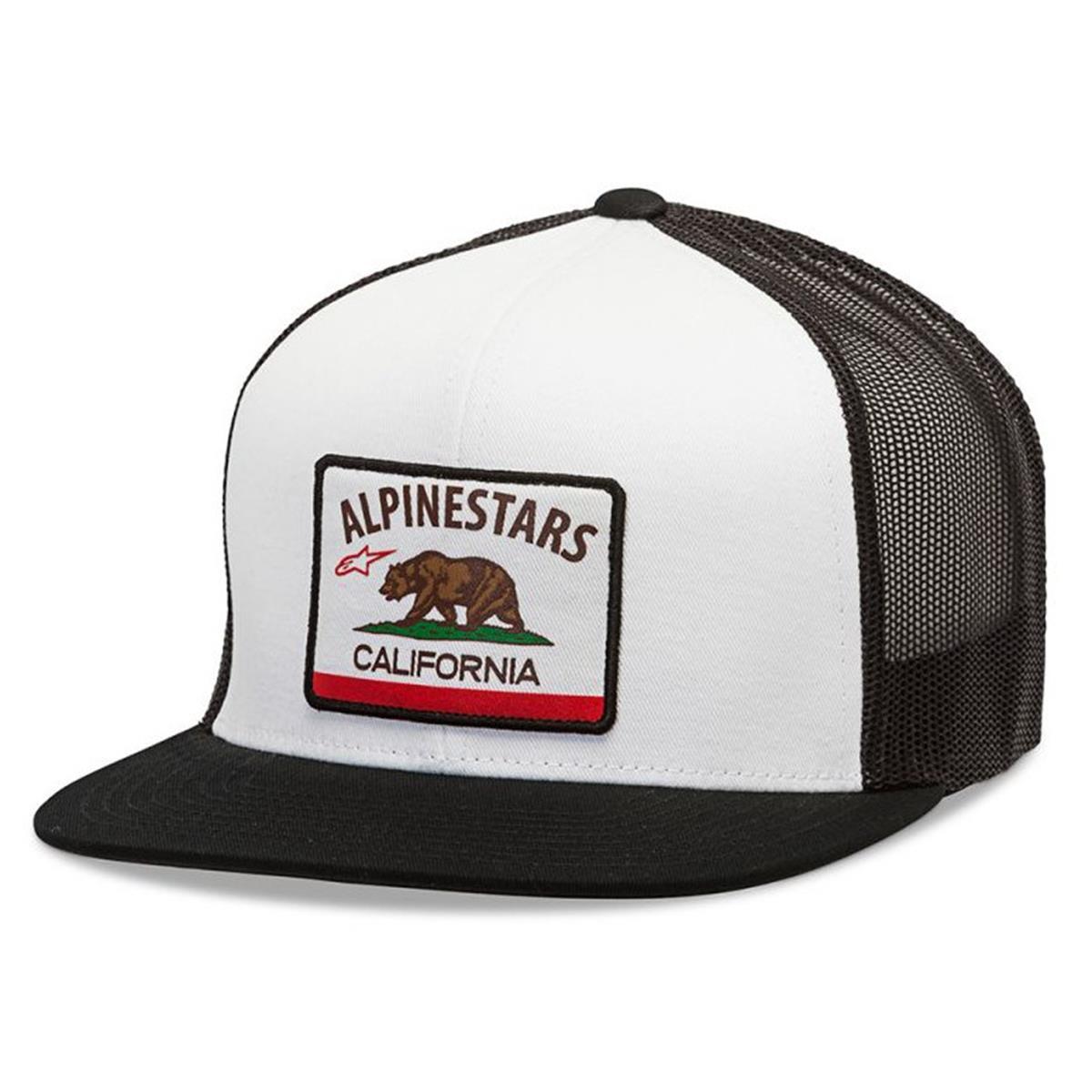 Alpinestars Snapback Cap Cali Weiß