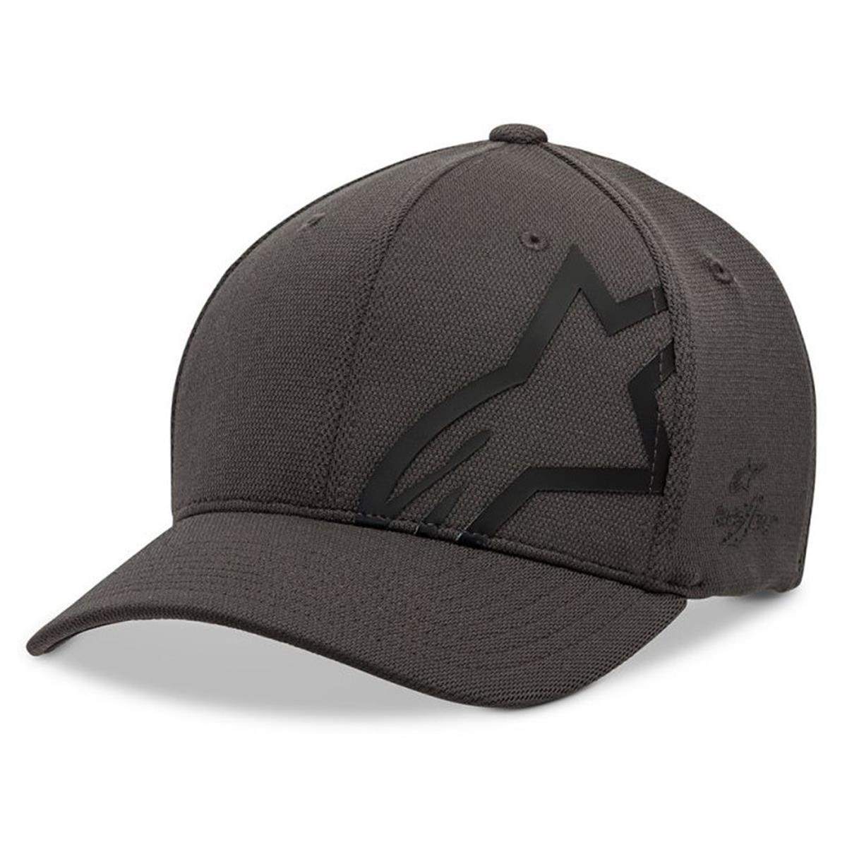 Alpinestars Flexfit Cap Corp Shift Sonic Tech Charcoal/Schwarz