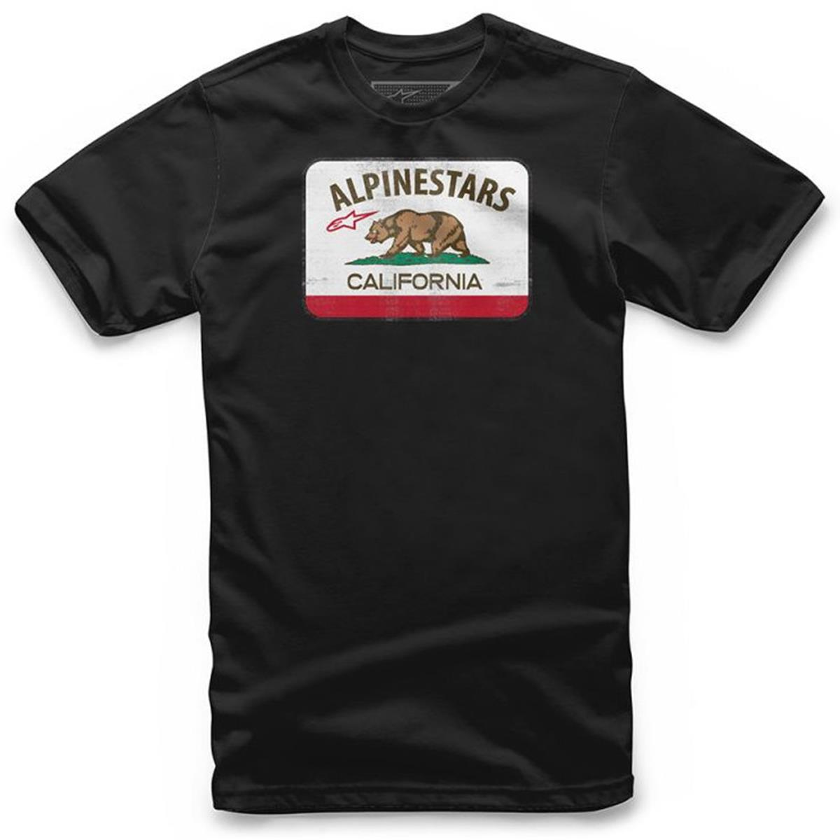 Alpinestars T-Shirt Cali Schwarz