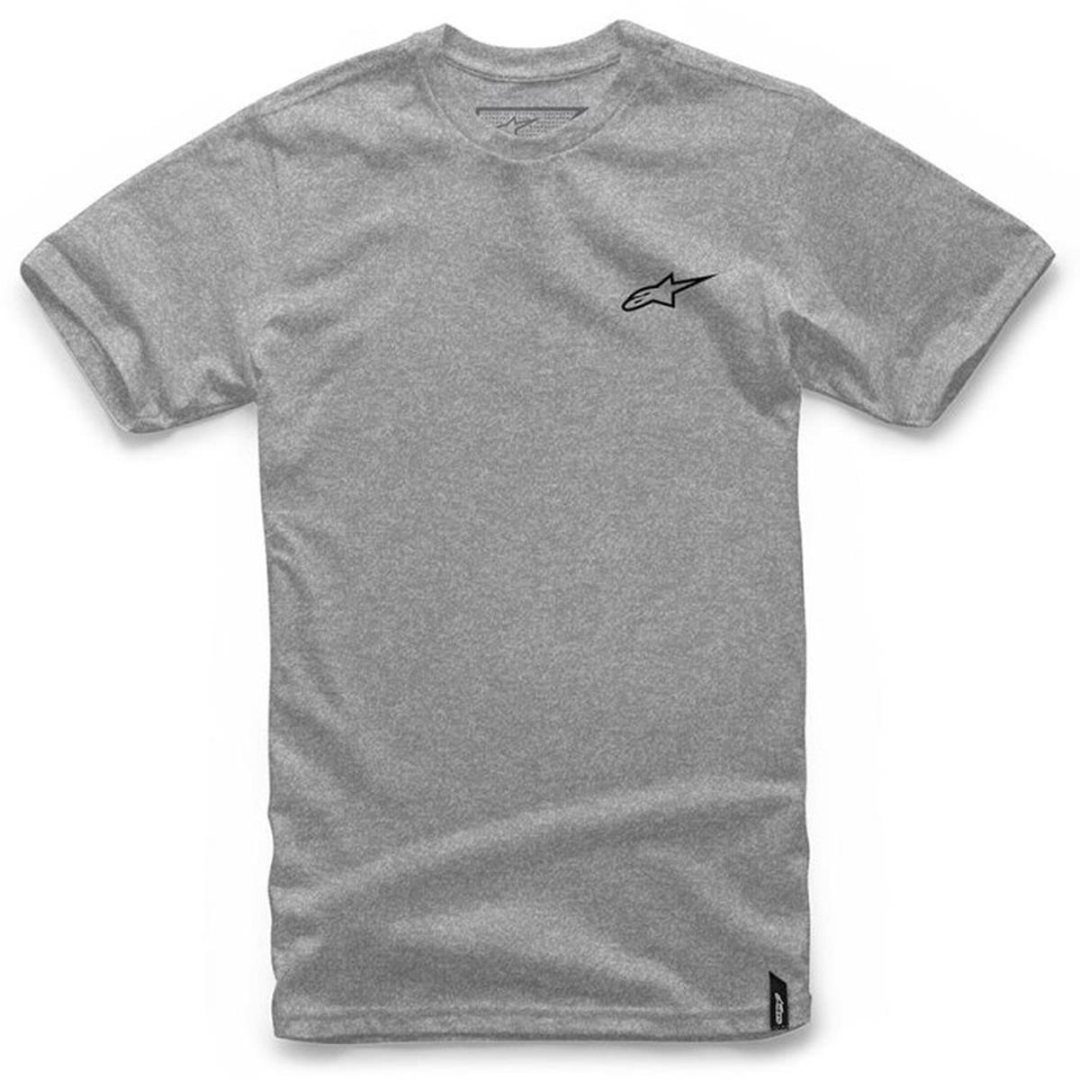 Alpinestars T-Shirt Neu Ageless Grey Heather/Schwarz