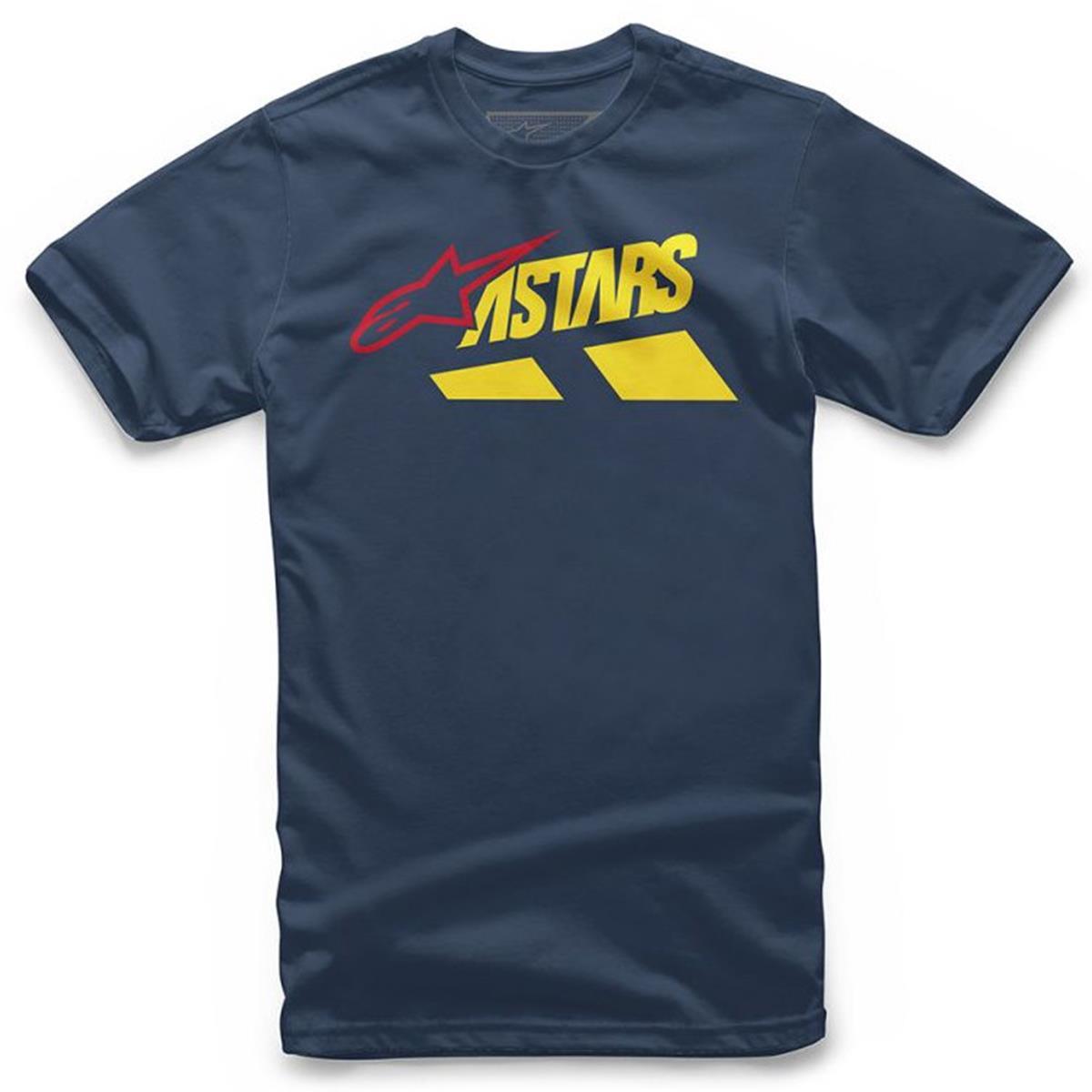 Alpinestars T-Shirt Downhill Navy