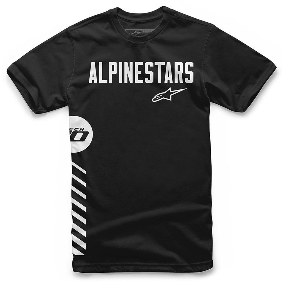 Alpinestars T-Shirt Wordly Schwarz