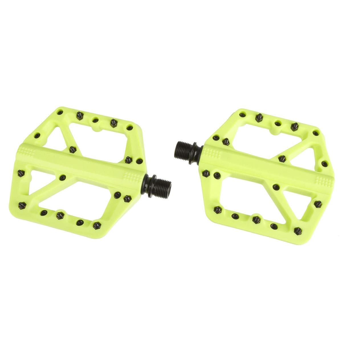 Crankbrothers Pedale Stamp 1 Citron, Small, Splash Edition
