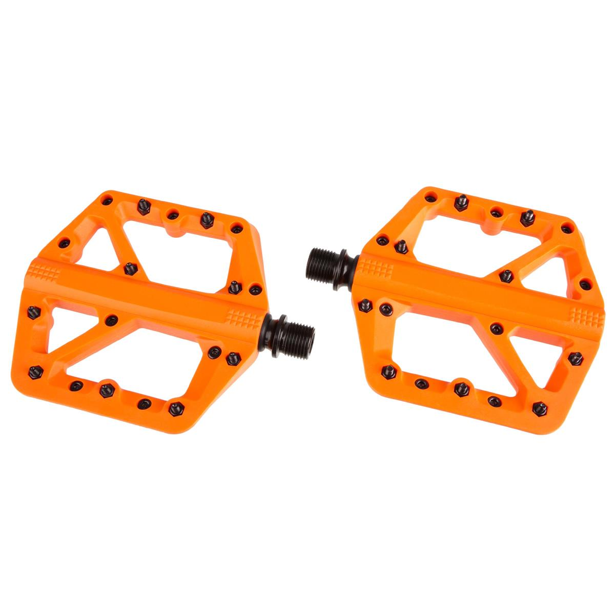 Crankbrothers Pedale Stamp 1 Orange, Small, Splash Edition