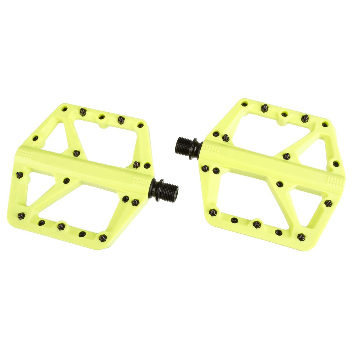 Crankbrothers Pedale Stamp 1 Citron, Large, Splash Edition