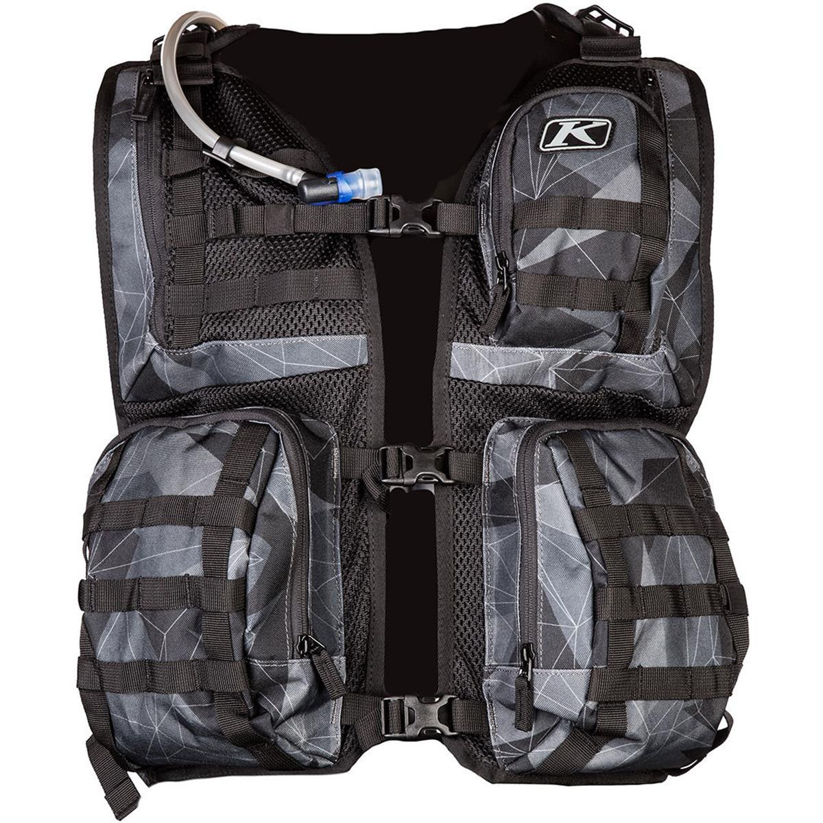 Klim Multifunktionsweste Arsenal mit Trinksystem, Camo