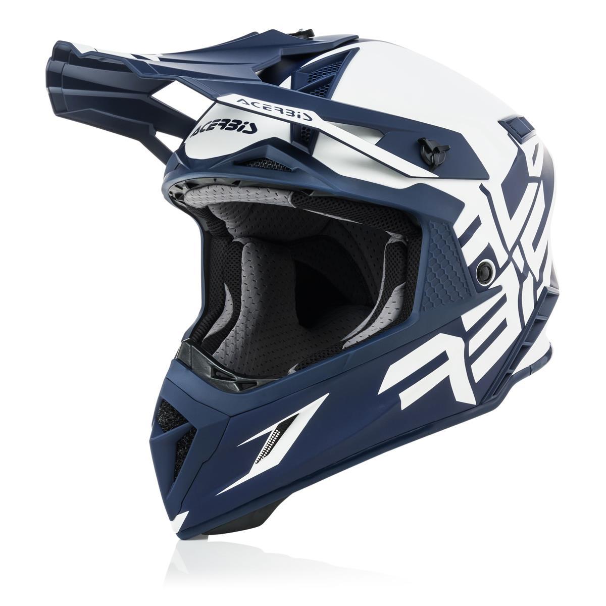 Acerbis Helm X-Pro VTR Weiß/Blau