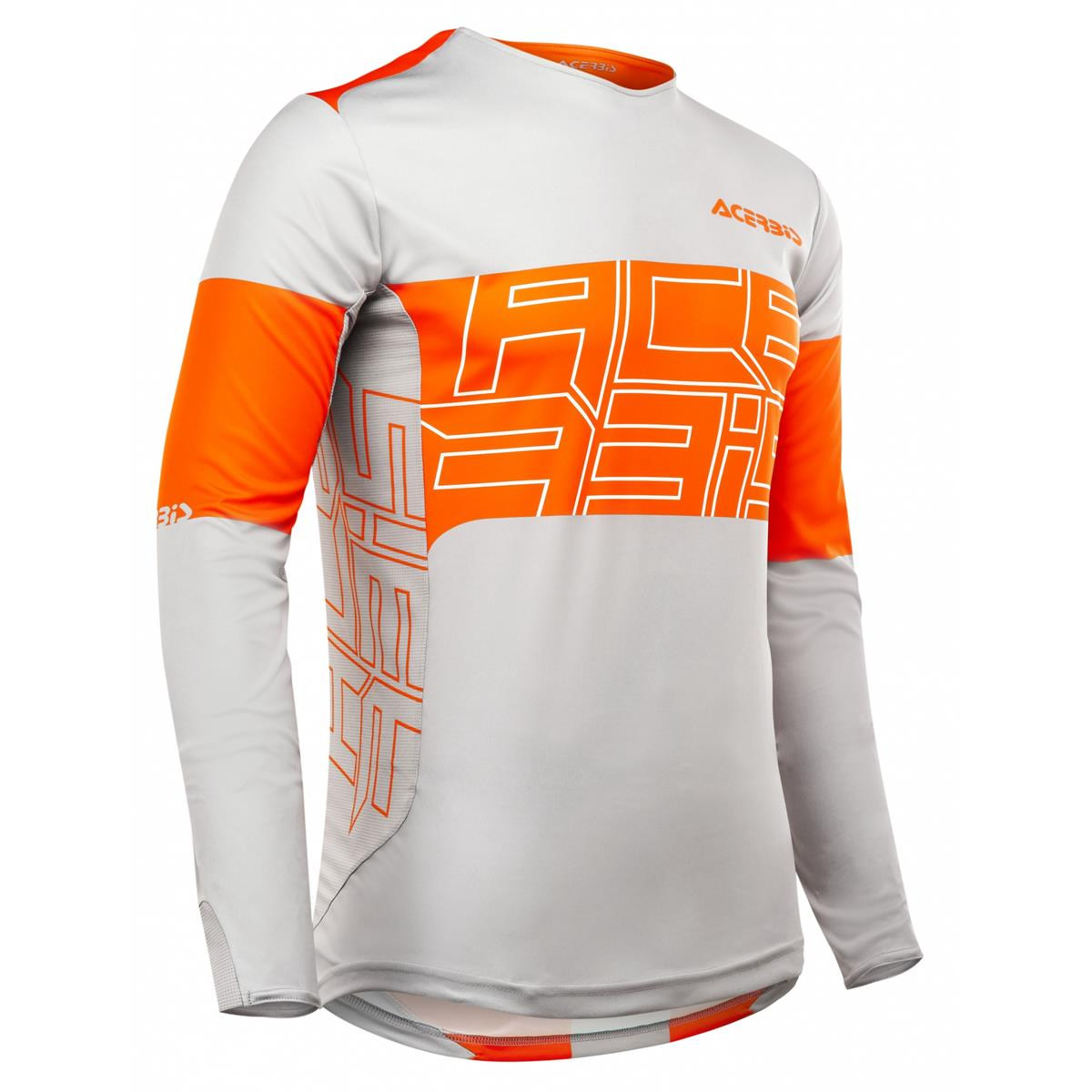 Acerbis MX Jersey Linear Orange/Grau