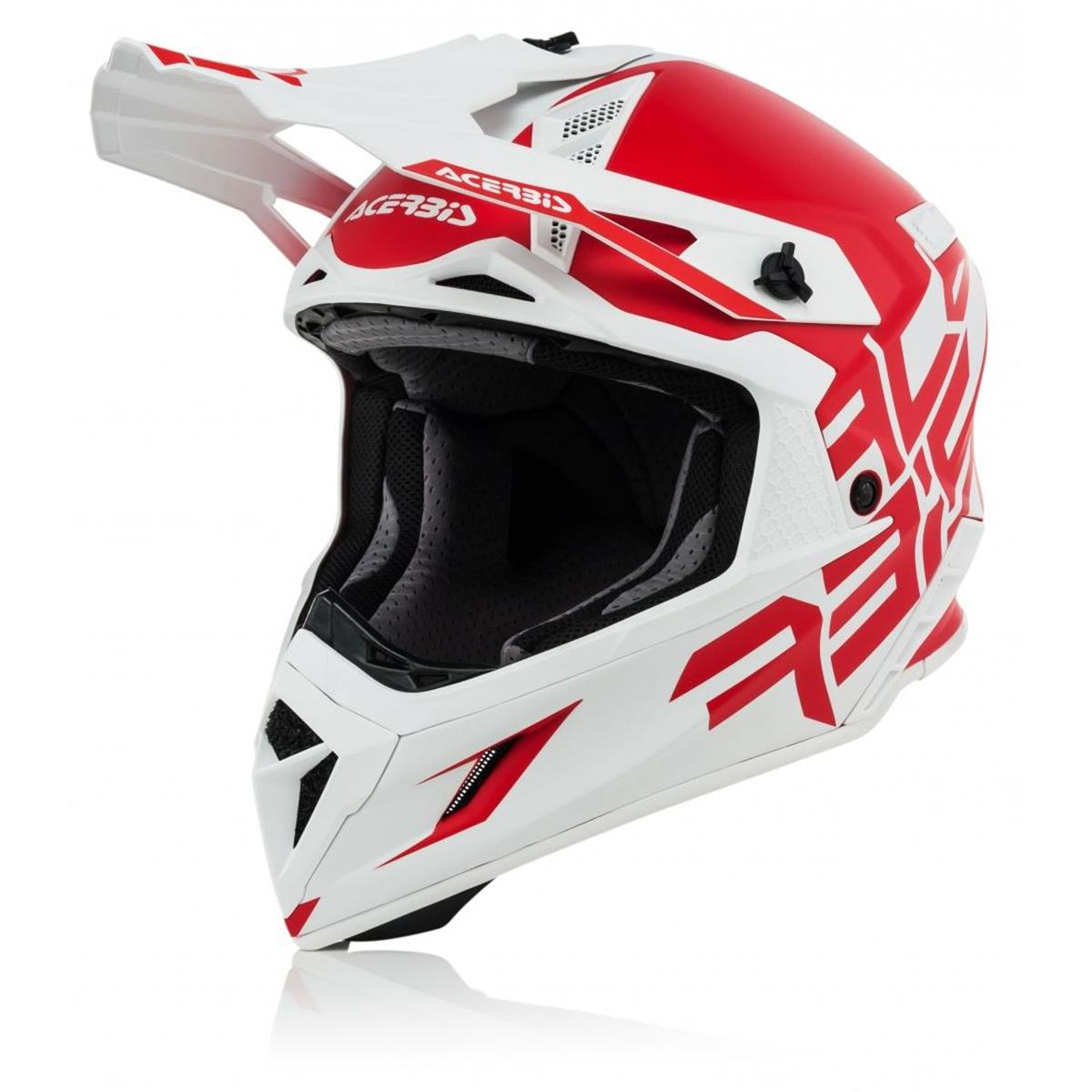 Acerbis Helm X Pro VTR Rot/Weiß