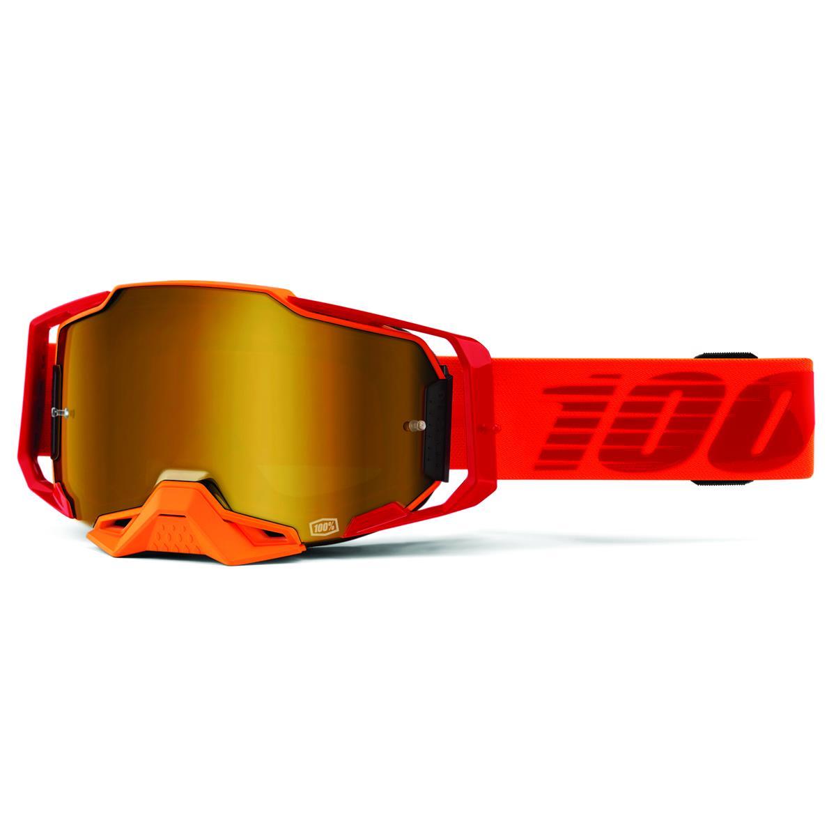 100% Crossbrille Armega Litkit - verspiegelt, Anti Fog