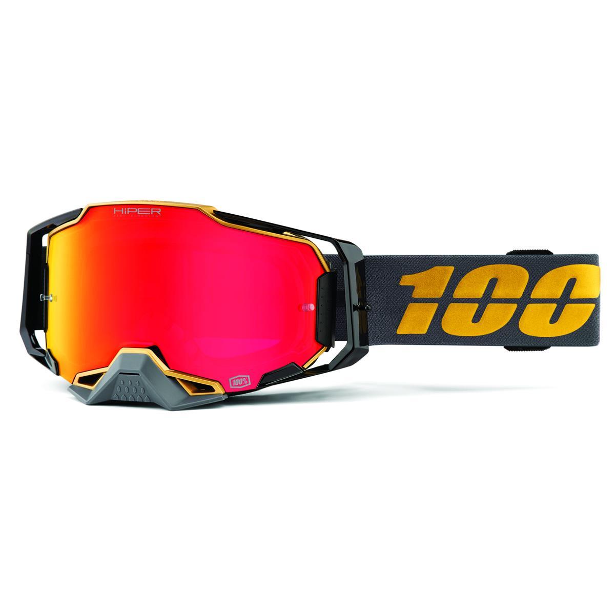 100% Crossbrille Armega Falcon 5 - Hiper Mirror, Anti Fog