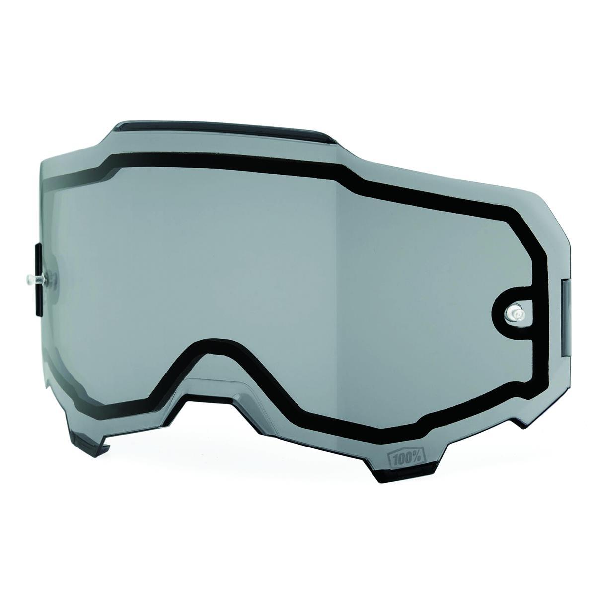 100% Ersatzglas Armega Smoke - Anti Fog