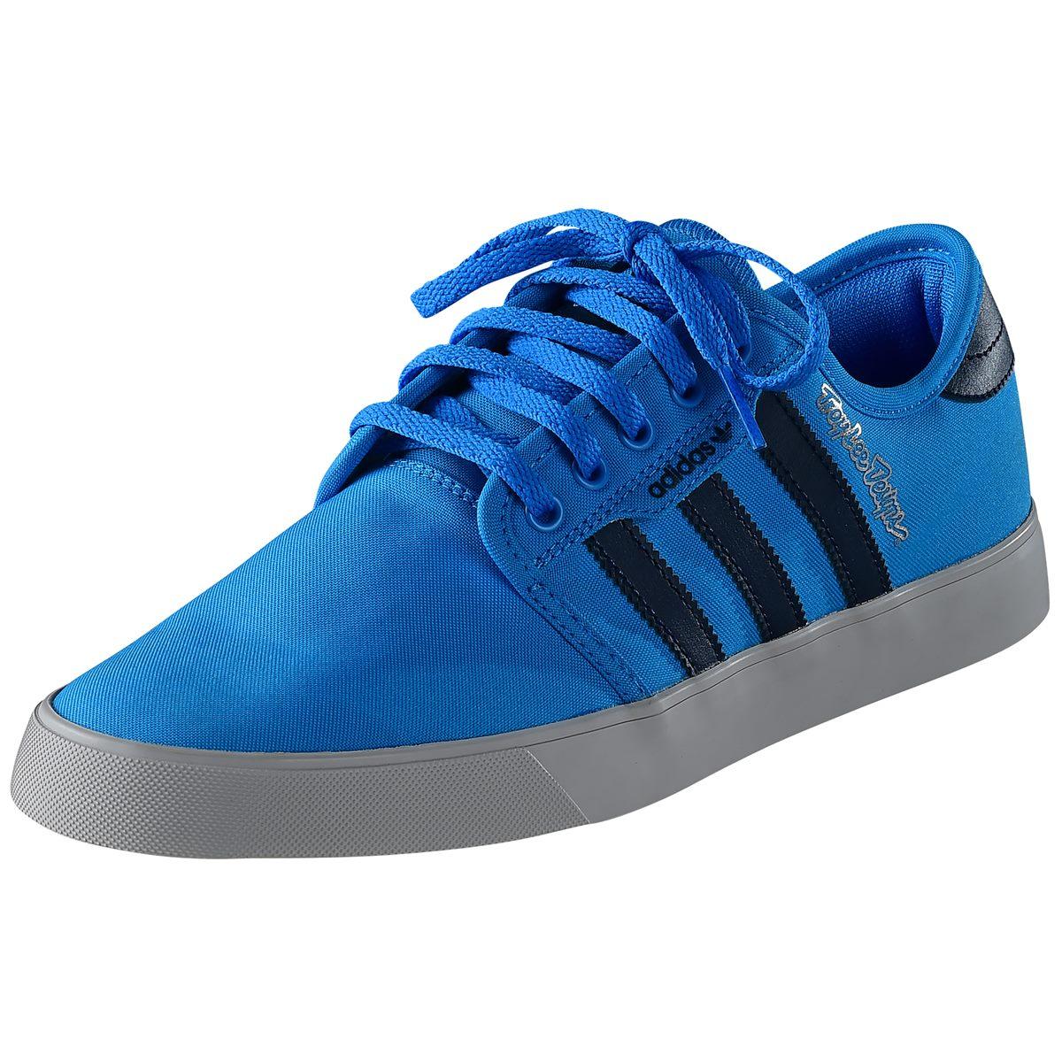 Troy Lee Designs Schuhe Team TLD X Adidas Cyan