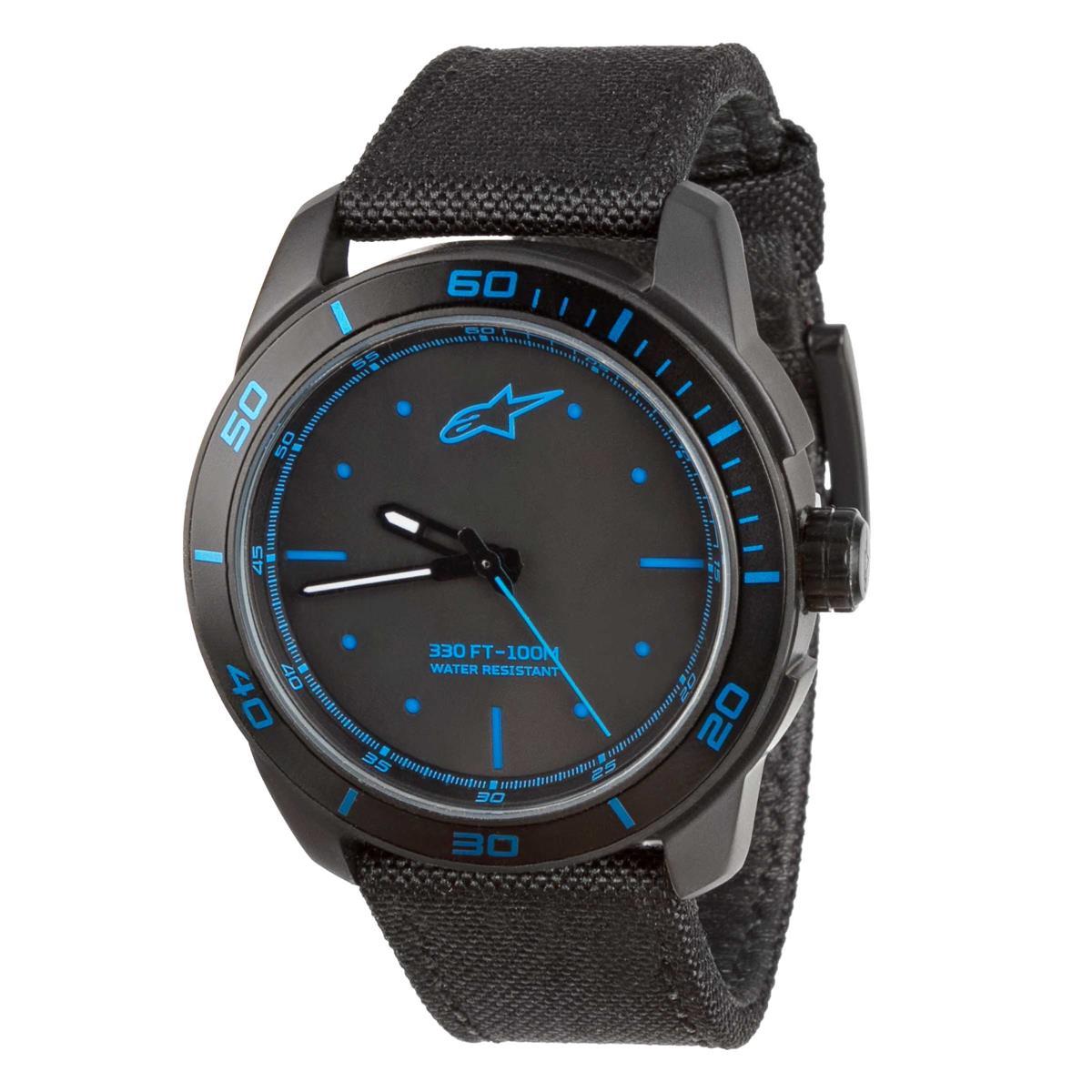 Alpinestars Uhr Tech Watch Schwarz/Blau
