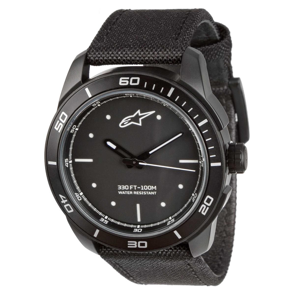 Alpinestars Uhr Tech Watch Schwarz/Weiß