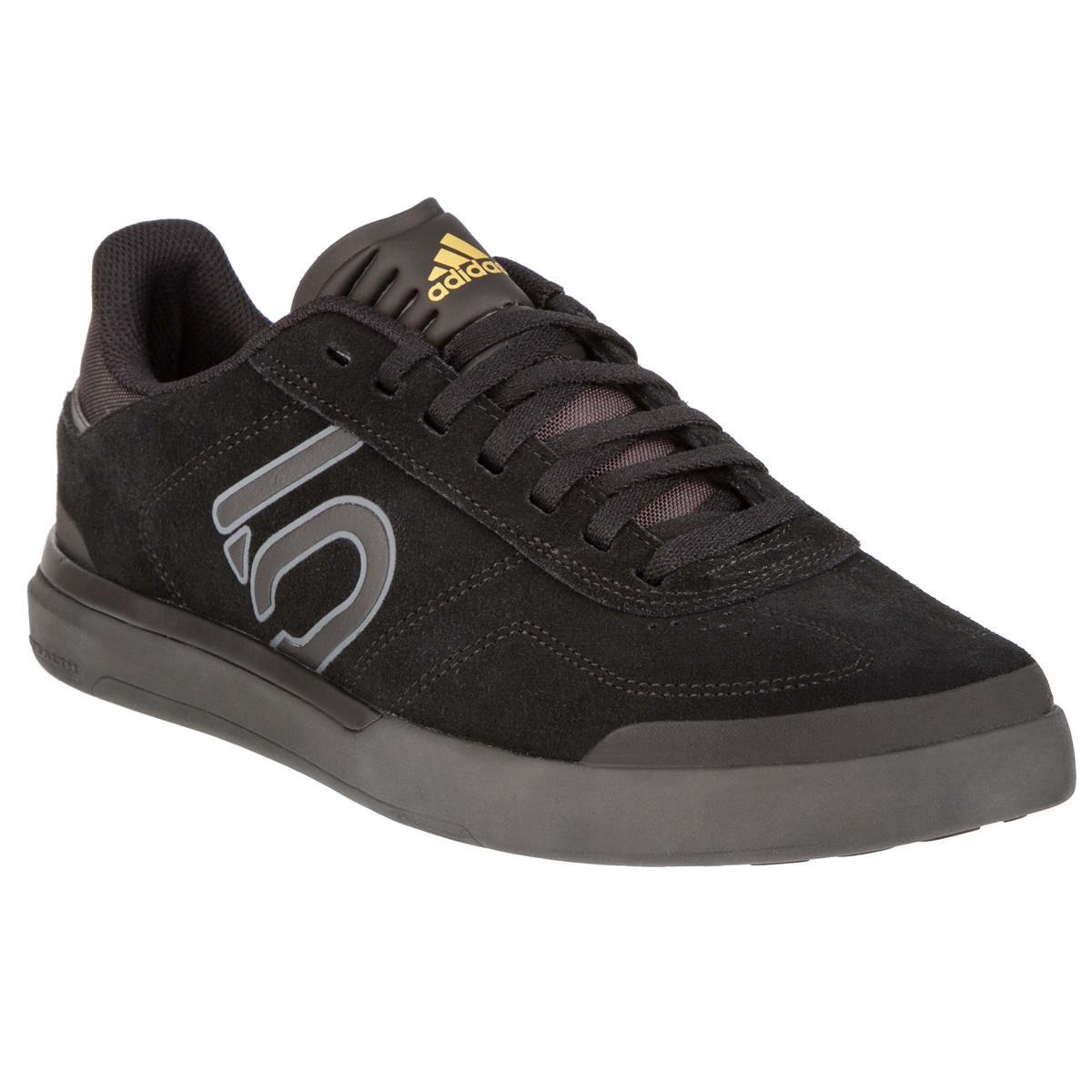 Five Ten MTB-Schuhe Sleuth DLX Core Black/Grey Six/Matte Gold