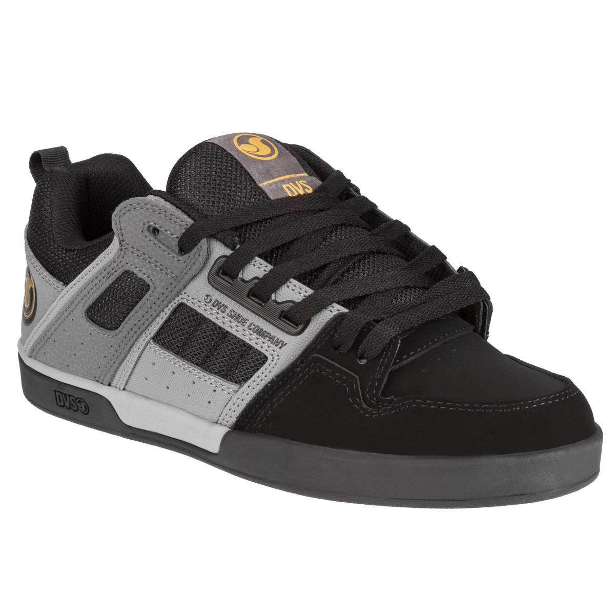 DVS Schuhe Comanche 2.0+ Schwarz/Grau Nubuk