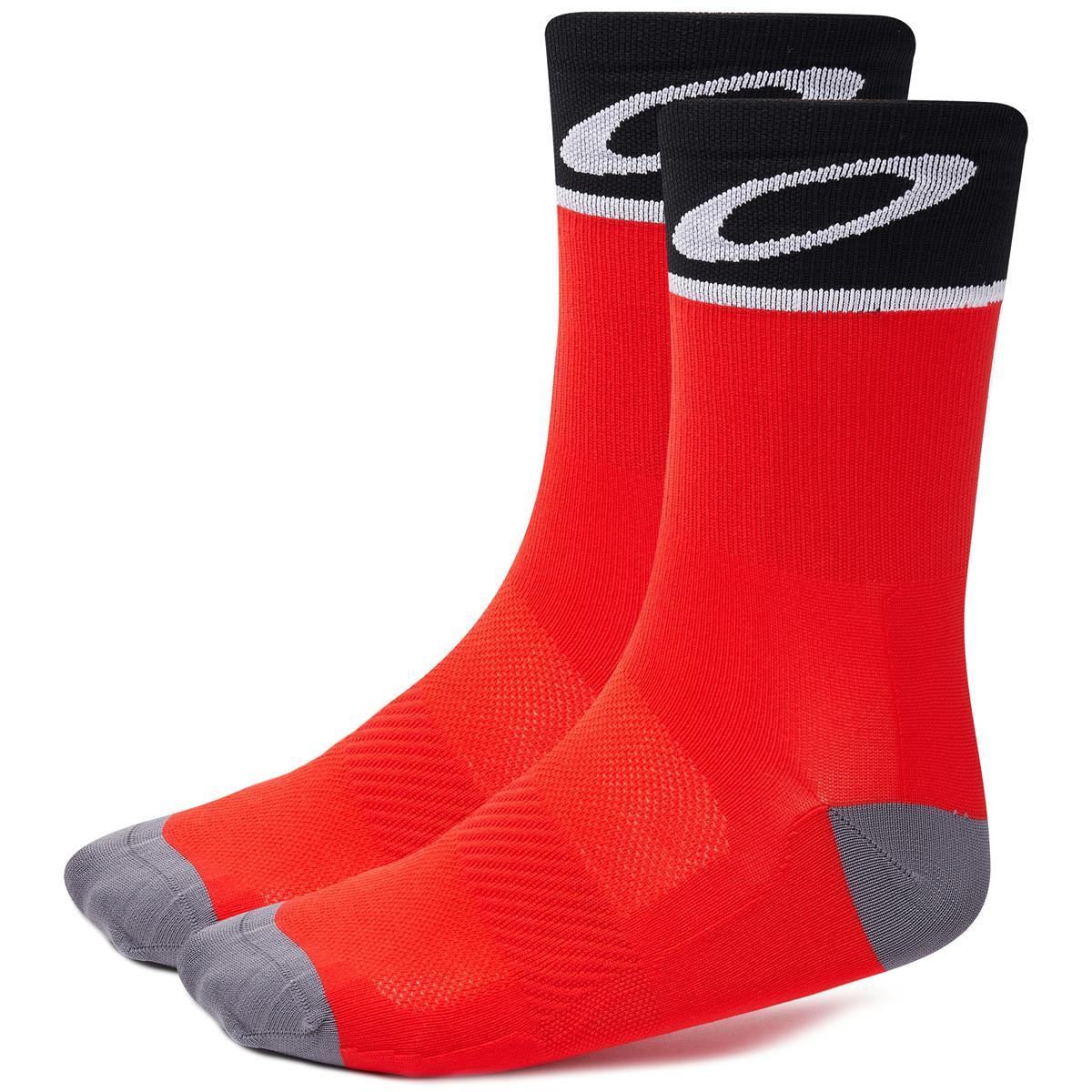 Oakley Bike-Socken  Red Line
