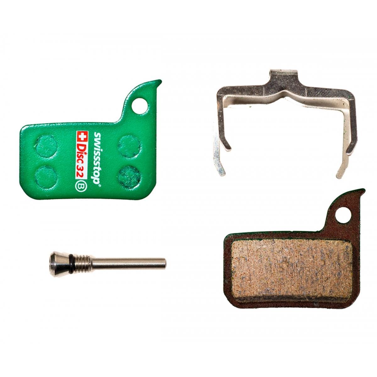 SwissStop Bike-Bremsbelag DISC32 Organisch, Für SRAM Level Ultimate & TLM